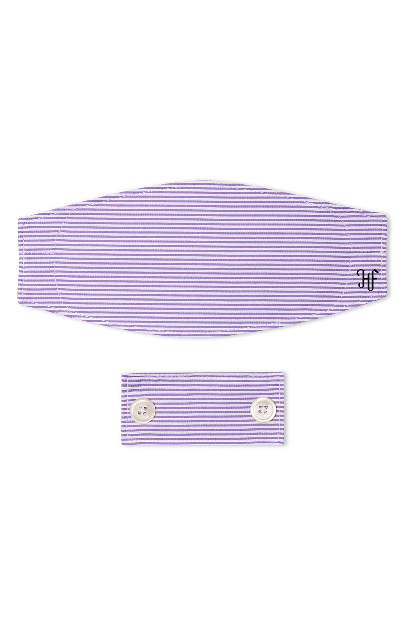 Adult Stripe Mask & Filter Set