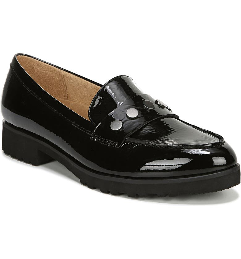 NATURALIZER Gaia Loafer, Main, color, BLACK PATENT LEATHER