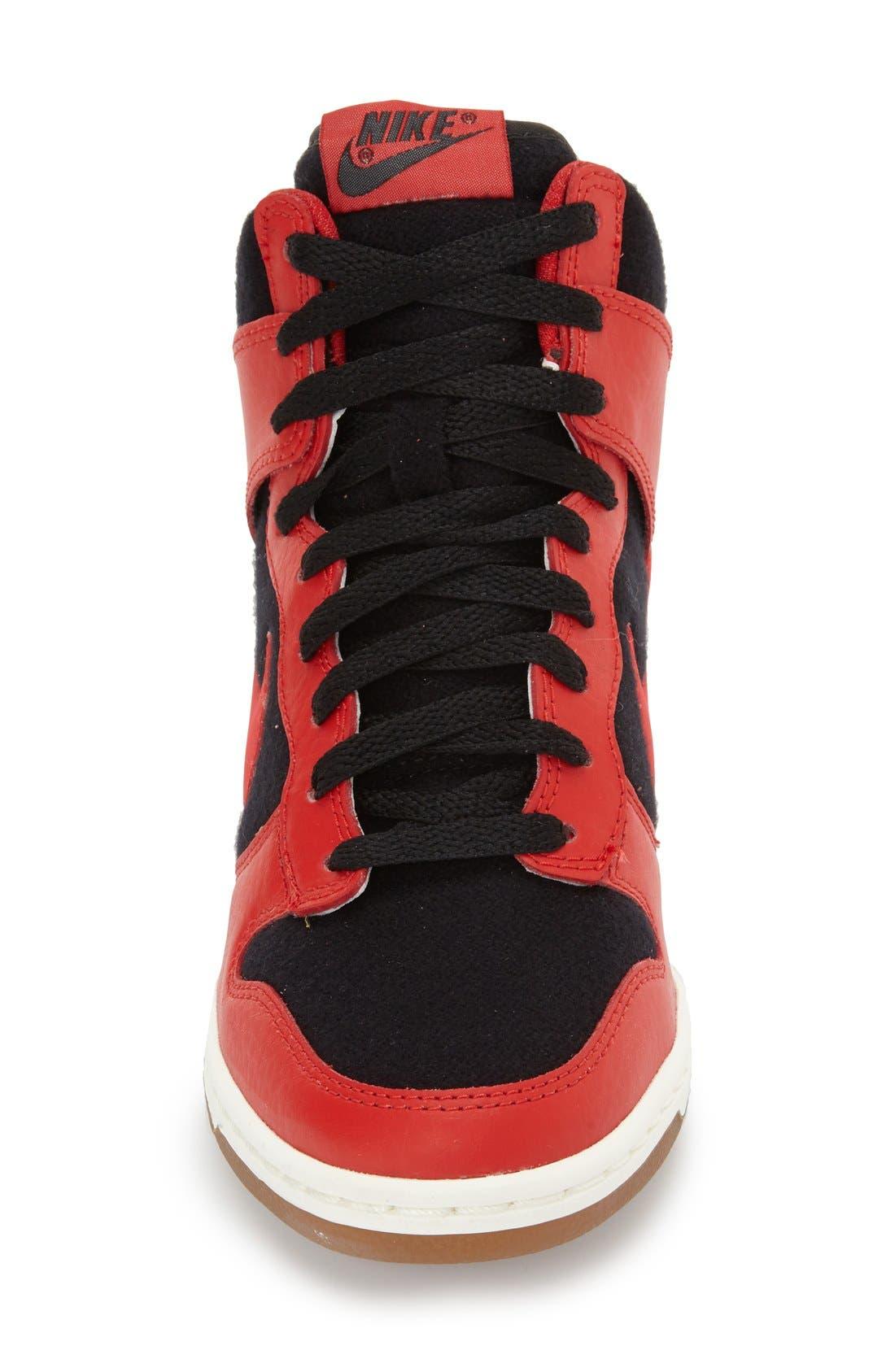 ,                             'Dunk Sky Hi - Essential' Wedge Sneaker,                             Alternate thumbnail 29, color,                             015