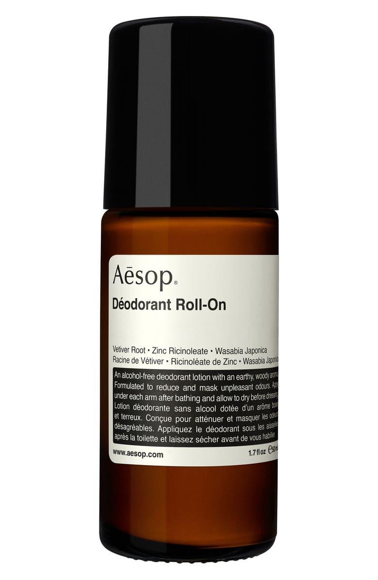AESOP Deodorant Roll-On, Main, color, NO COLOR