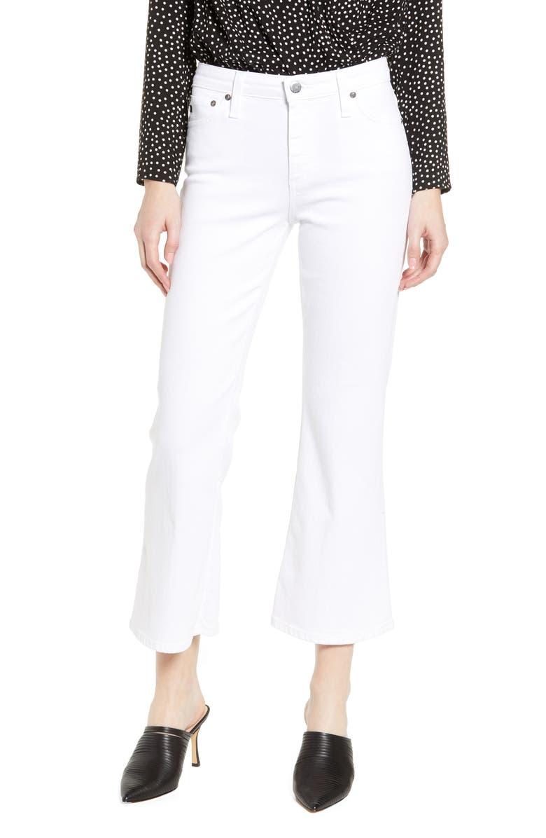 AG Quinne High Waist Kick Flare Jeans, Main, color, 110