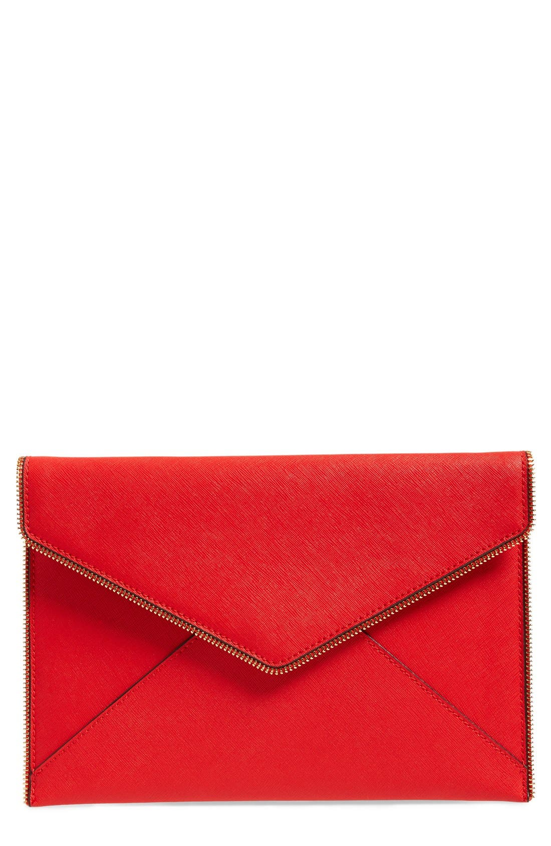 ,                             Leo Envelope Clutch,                             Main thumbnail 248, color,                             601