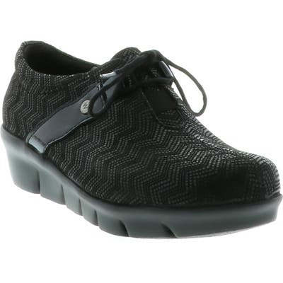 Wolky Muse Oxford-9 - Black