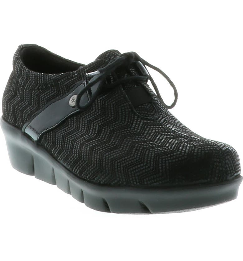 WOLKY Muse Oxford, Main, color, BLACK NUBUCK LEATHER
