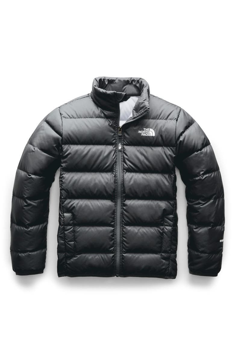 THE NORTH FACE Andes Water Repellent 550-Fill Power Down Jacket, Main, color, 027