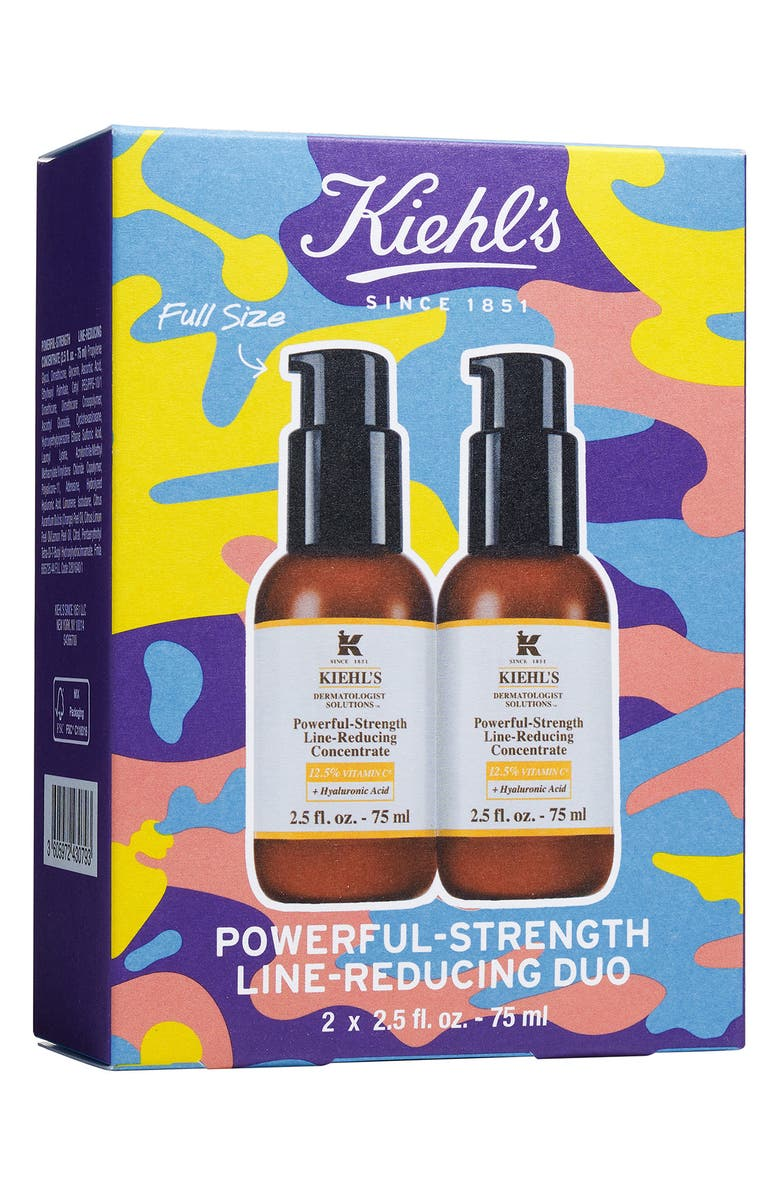 KIEHL'S SINCE 1851 Powerful-Strength Line-Reducing Concentrate Duo, Main, color, 000
