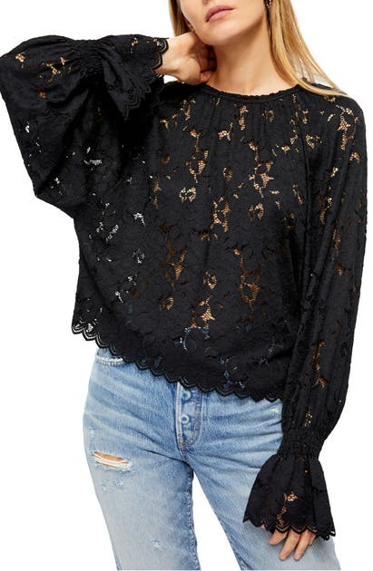 Free People Tops OLIVIA LACE TOP