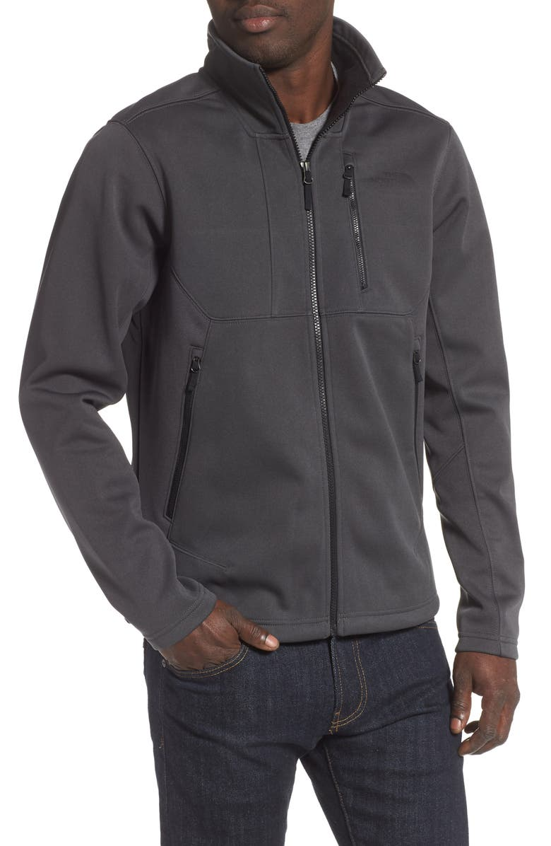 THE NORTH FACE Apex Risor Water Repellent Jacket, Main, color, TNF DARK GREY HEATHER
