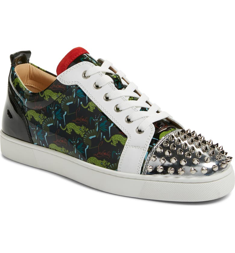 CHRISTIAN LOUBOUTIN Louis Spikes Junior Low Top Sneaker, Main, color, VERSION MULTI