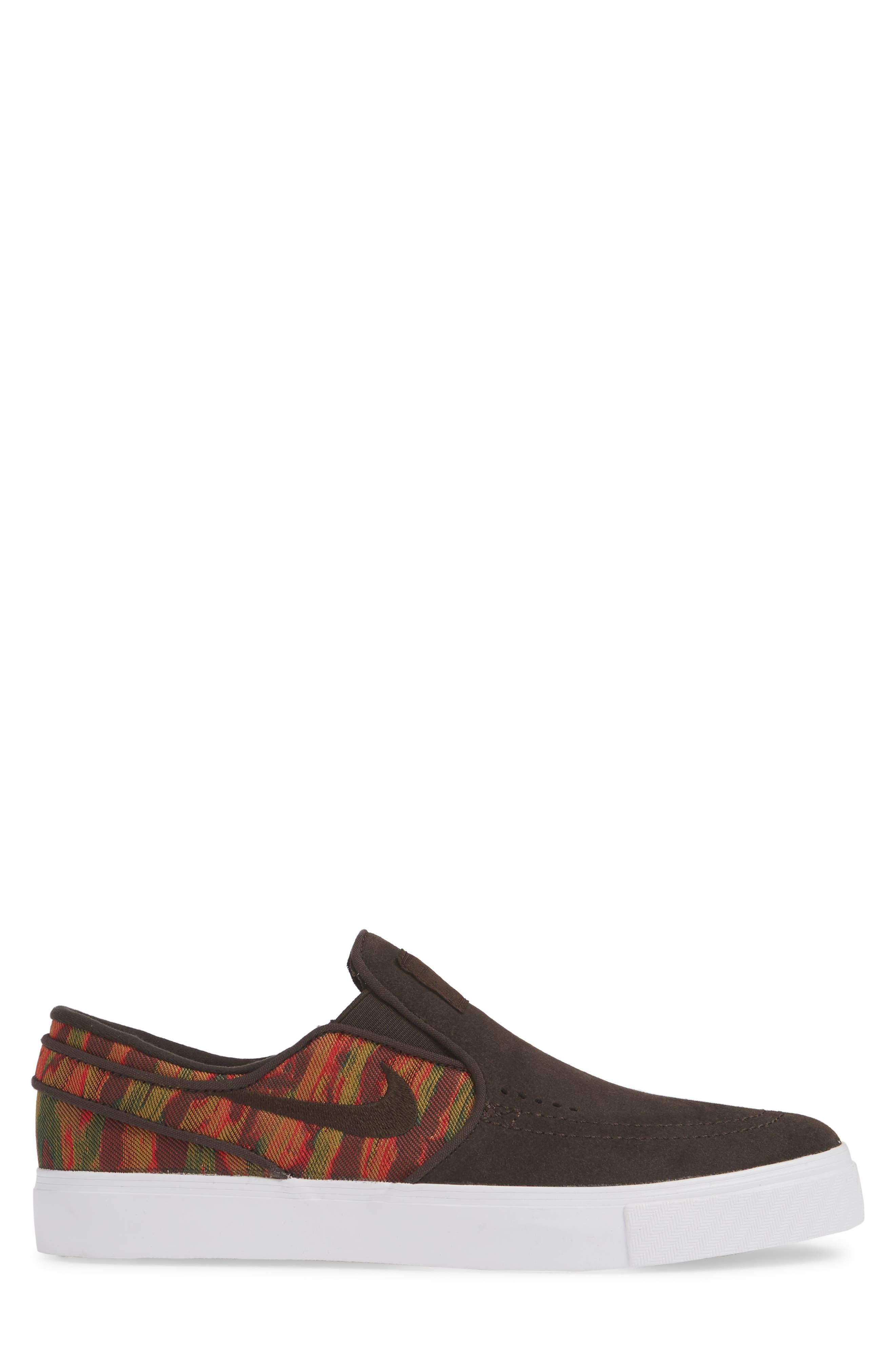 ,                             'SB Zoom Stefan Janoski' Slip-On Premium Sneaker,                             Alternate thumbnail 3, color,                             200