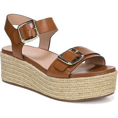 27 Edit Jovana Espadrille Platform Sandal, Brown