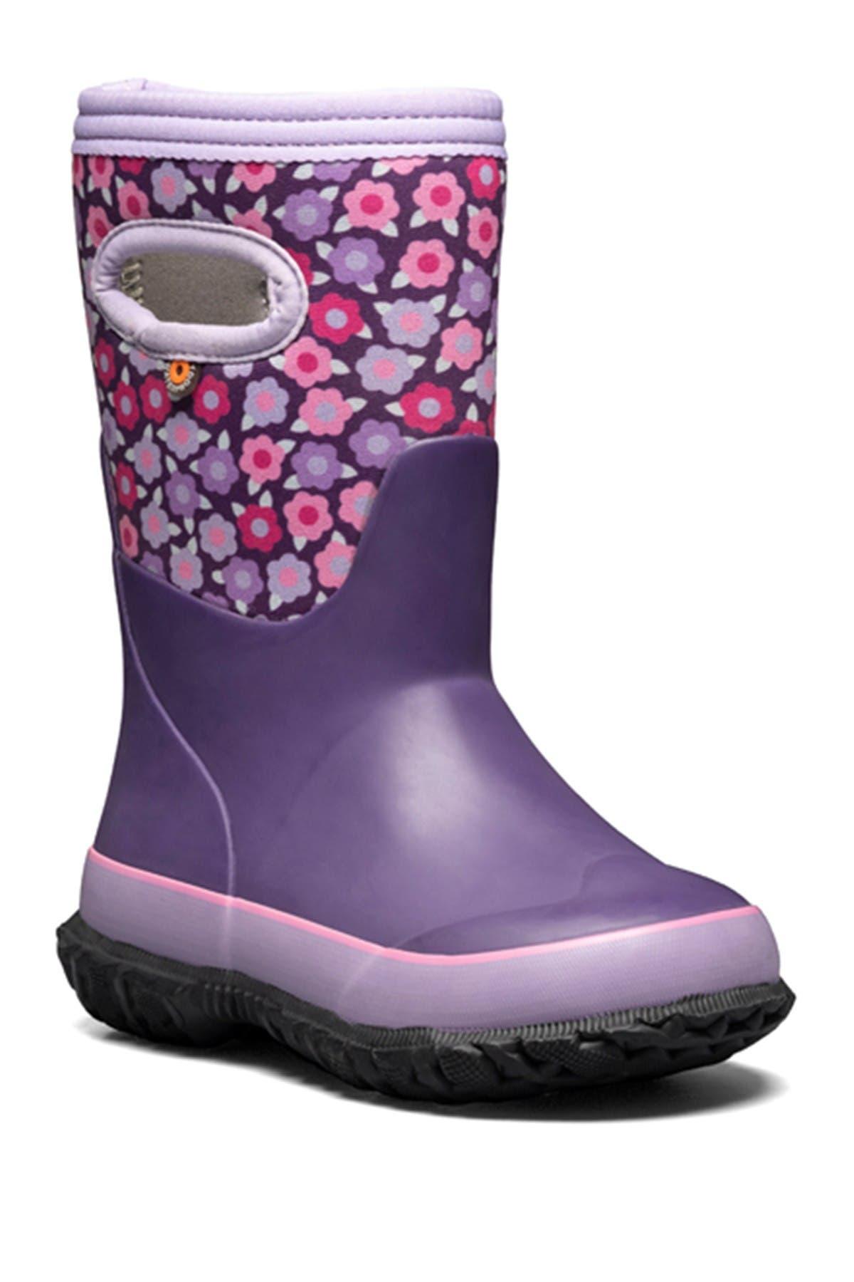 Image of Bogs Grasp Pop Flowers Winter Boot