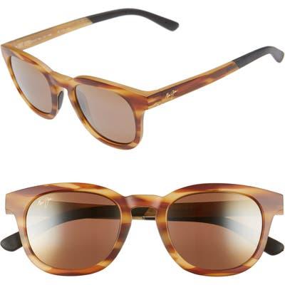 Maui Jim Koko Head 4m Polarizedplus2 Sunglasses - Matte Tortoise/ Hcl Bronze