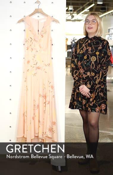 Ruffle Detail High/Low Sleeveless Maxi Dress, sales video thumbnail