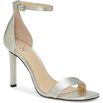Vince Camuto Lauralie Ankle Strap Sandal, Metallic