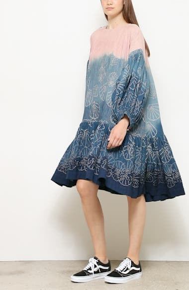Verity Tie Dye Drop Waist Dress, video thumbnail