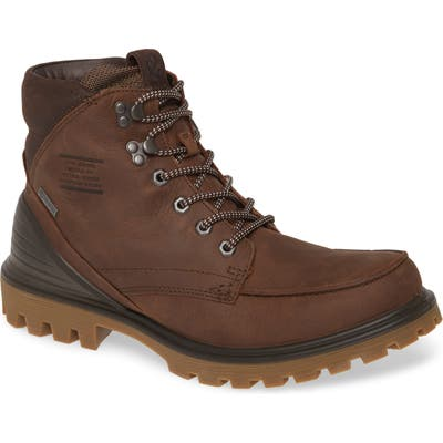 Ecco Tred Tray Gtx Moc Toe Boot - Brown