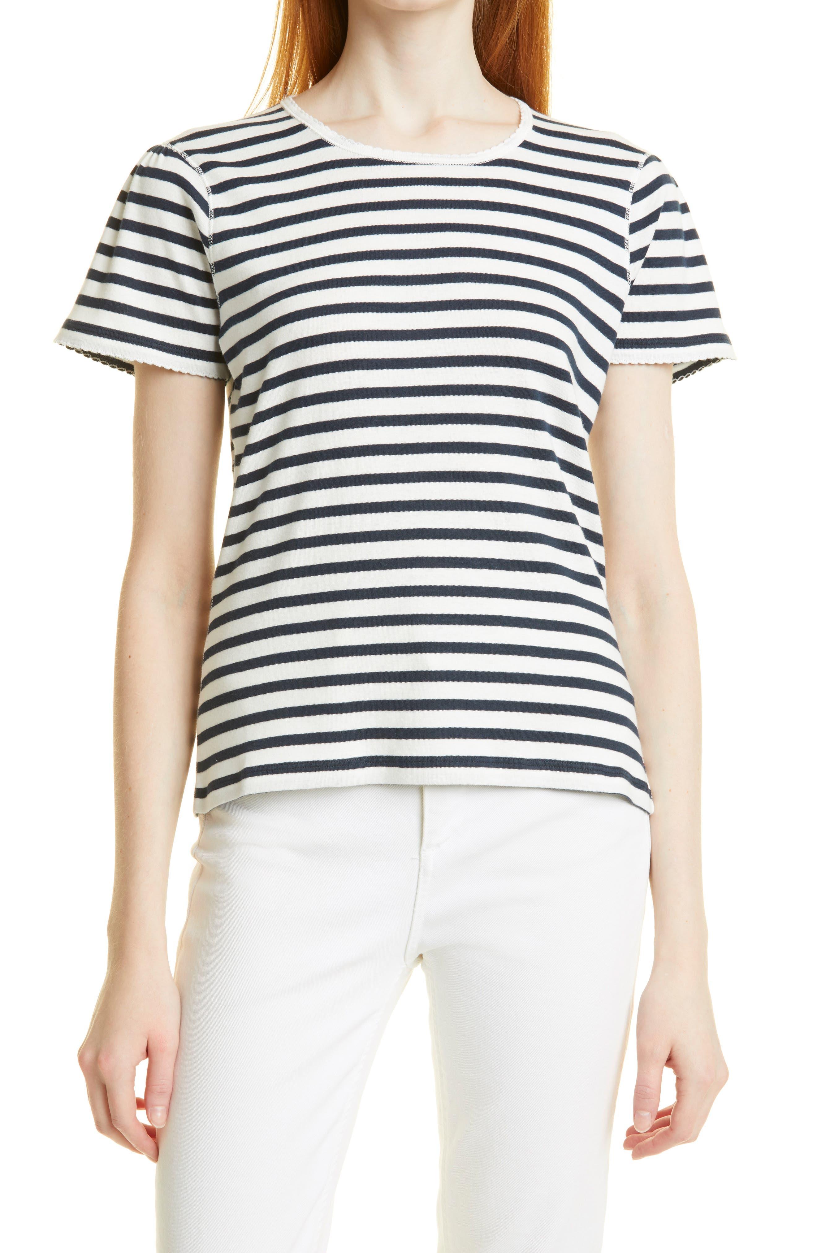 Stripe Cotton Baby T-Shirt