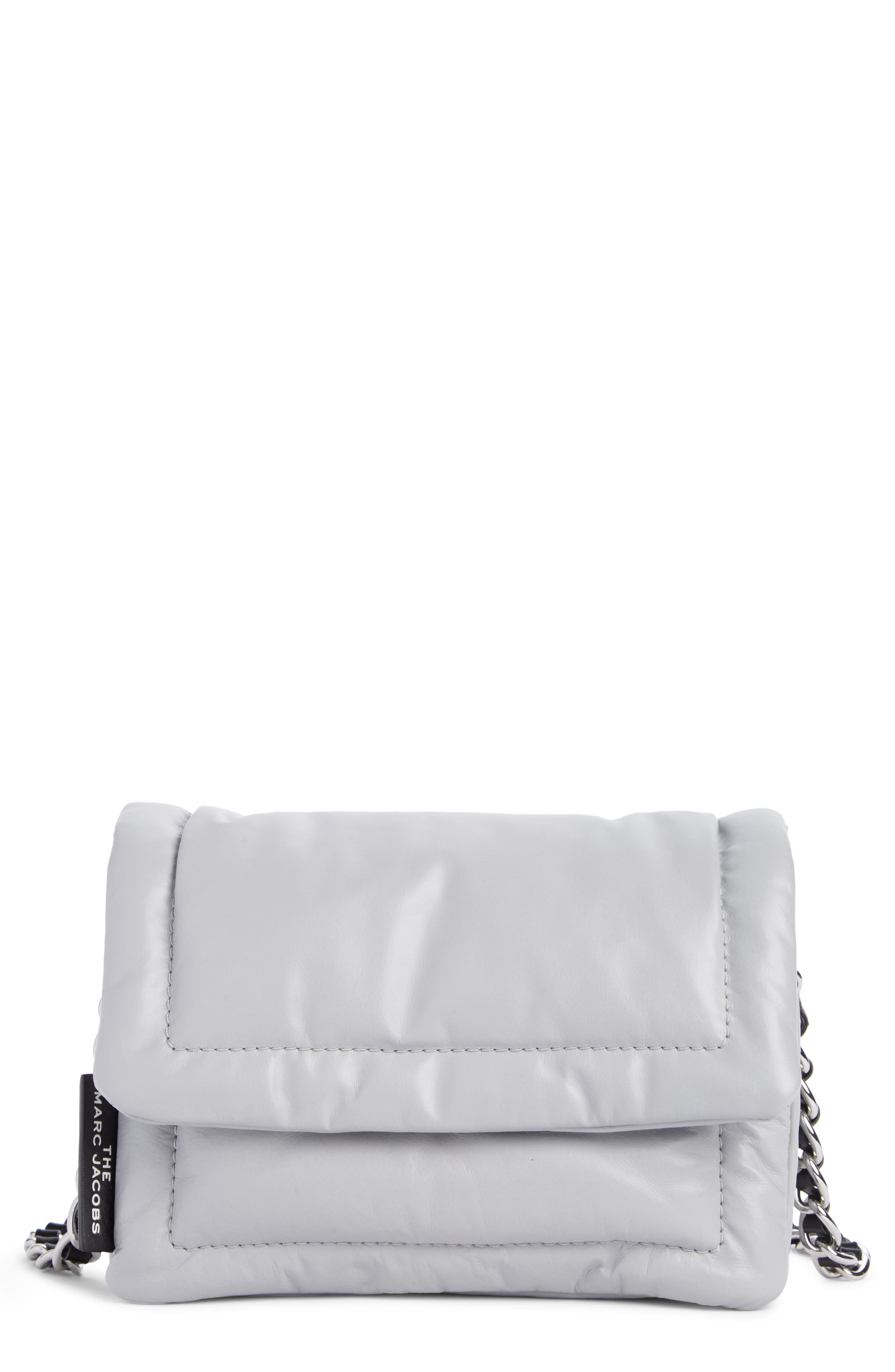 Image of THE MARC JACOBS Mini Pillow Leather Shoulder Bag