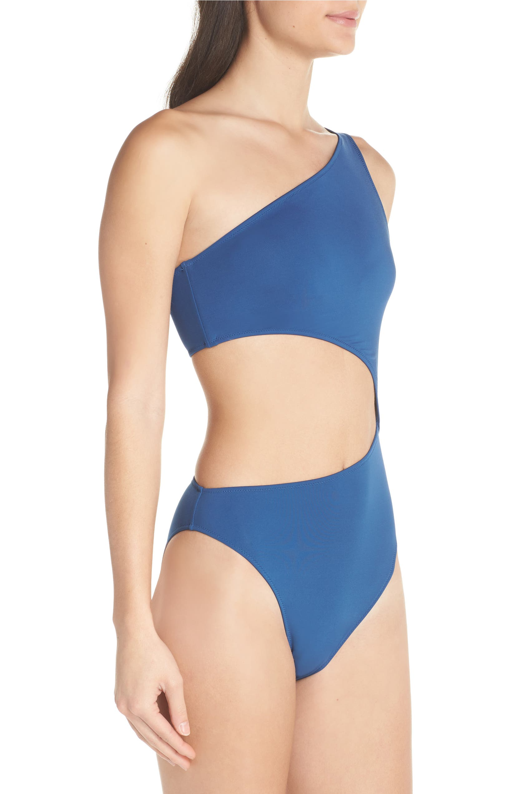 2769771515a33 J.Crew Playa Tilden One-Shoulder One-Piece Swimsuit | Nordstrom