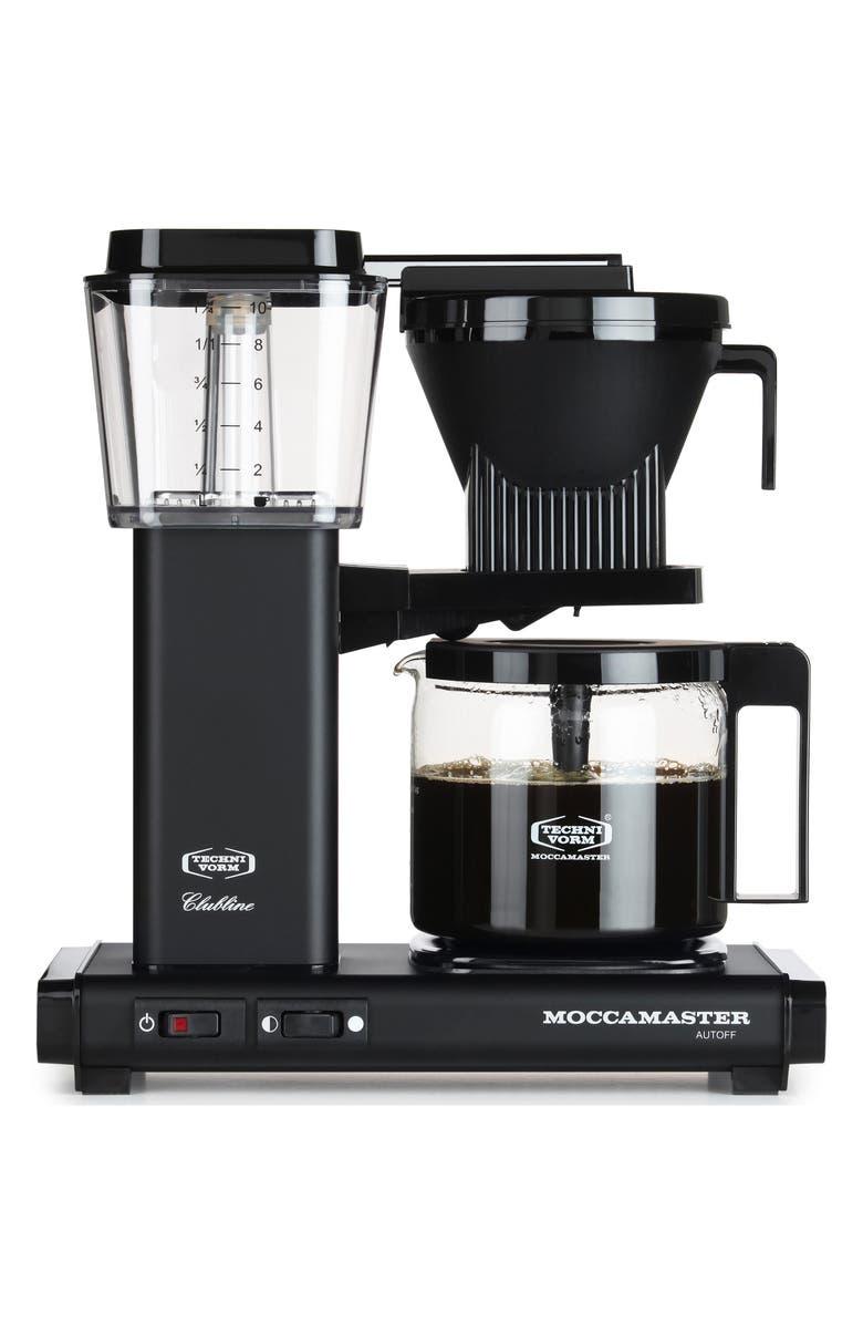 MOCCAMASTER KBG Coffee Brewer, Main, color, MATTE BLACK
