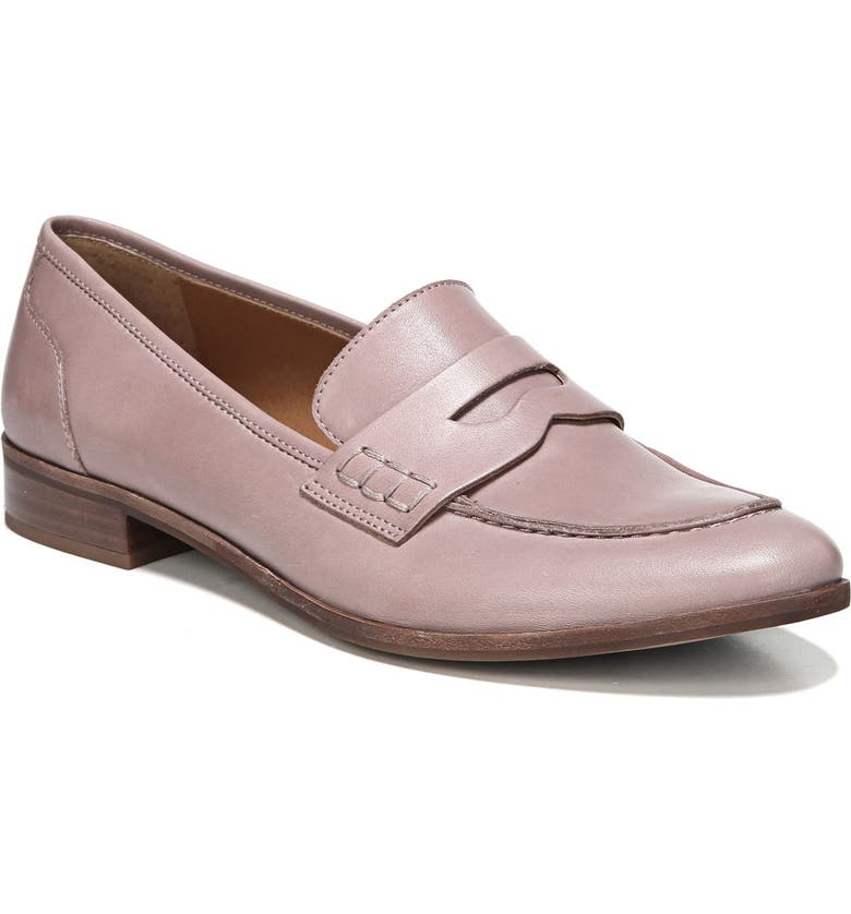 SARTO BY FRANCO SARTO 'Jolette' Penny Loafer, Main, color, WOODROSE LEATHER