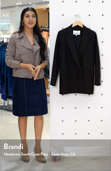 Check Suiting Blazer, sales video thumbnail