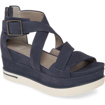 Eileen Fisher Boost Wedge Sandal, Blue