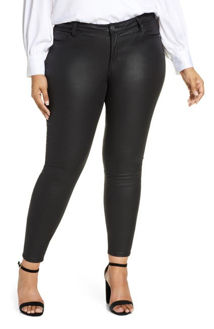 Image of KUT from the Kloth Mia Toothpick Coated Skinny Jeans