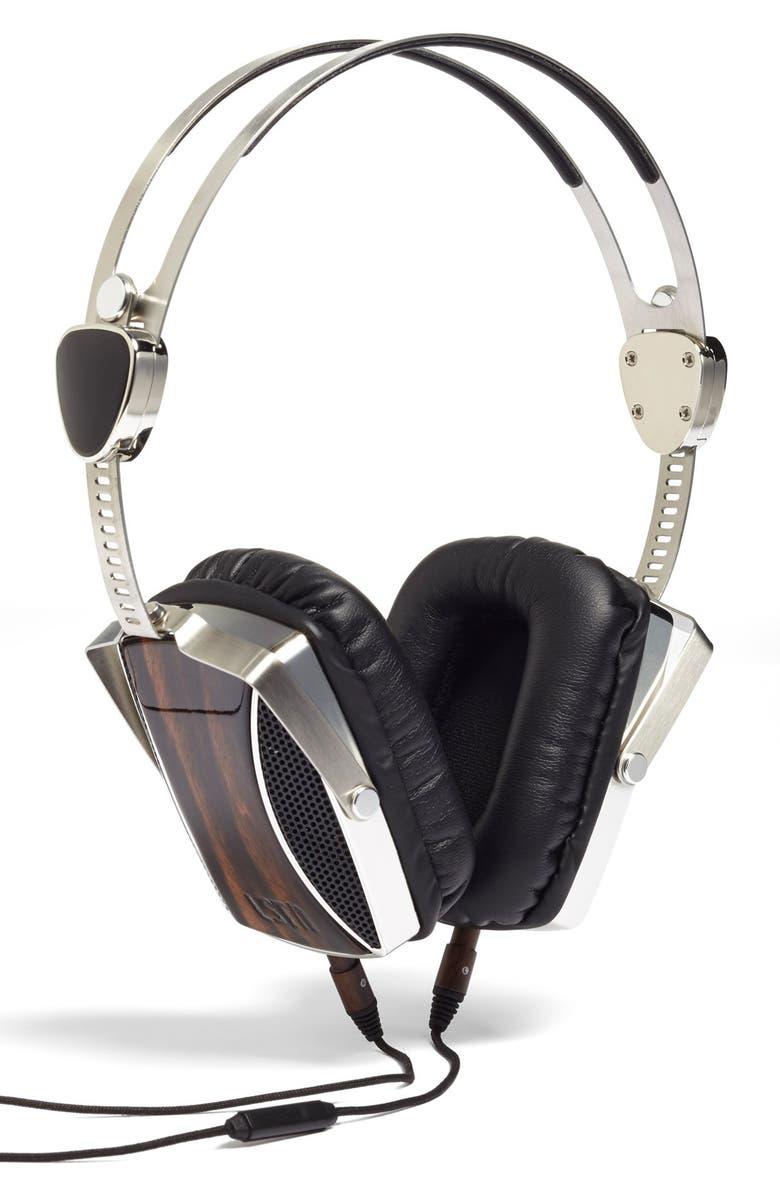 LSTN 'Encore' Ebony Wood Headphones, Main, color, 201
