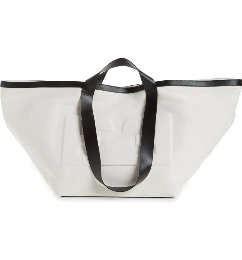 FRAME Recycled Tote Bag, Main, color, NATURAL