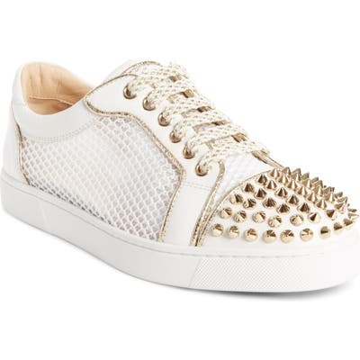 Christian Louboutin Vieira Spiked Low Top Sneaker