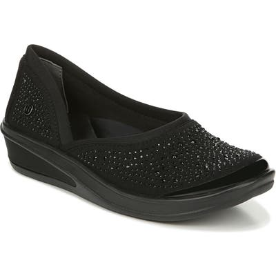 Bzees Moonlight Skimmer Flat, Black