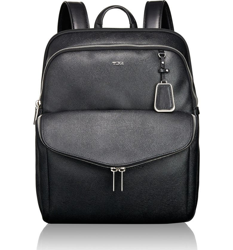 TUMI 'Sinclair Harlow' Coated Canvas Laptop Backpack, Main, color, 002