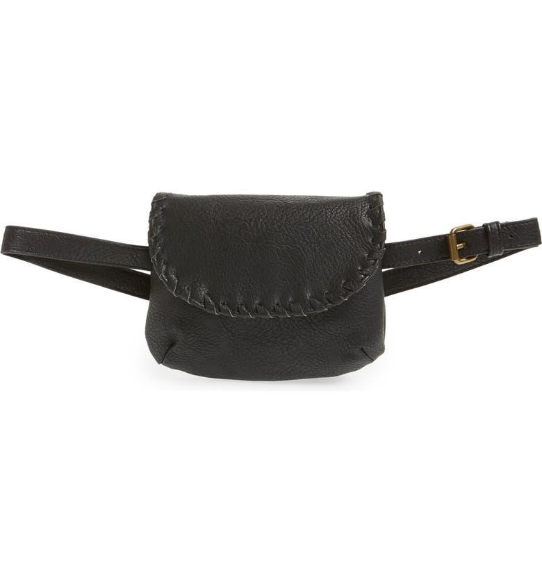 BP. Flap Pouch Belt Bag, Main, color, 001