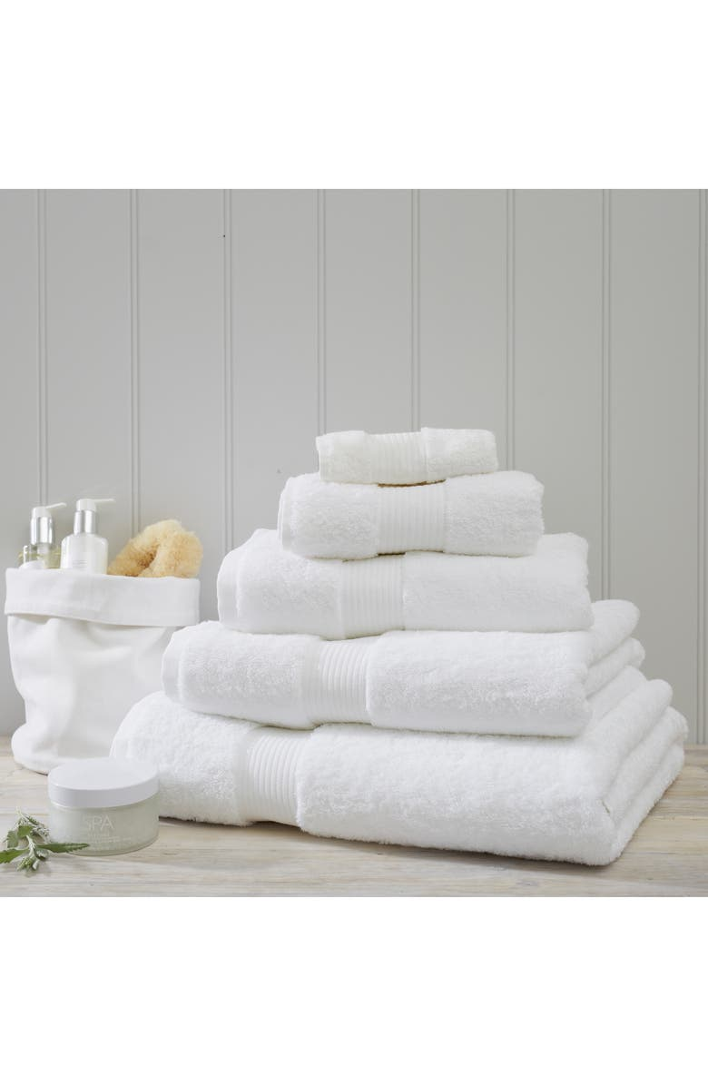 THE WHITE COMPANY Luxury Egyptian Cotton Super Jumbo Towel, Main, color, WHITE