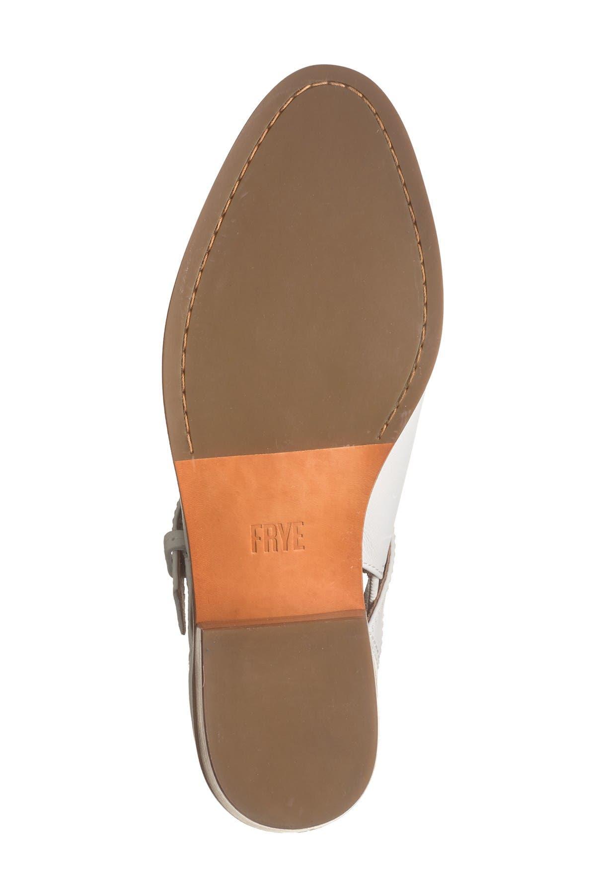 Frye Mia Cutout Leather Bootie