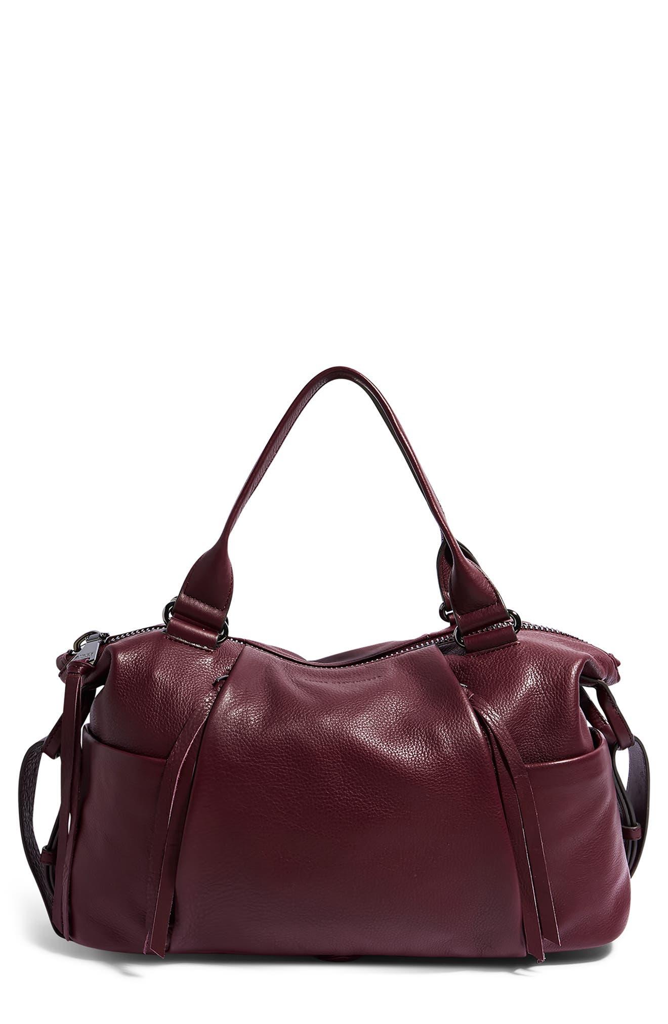 Tamitha Leather Satchel