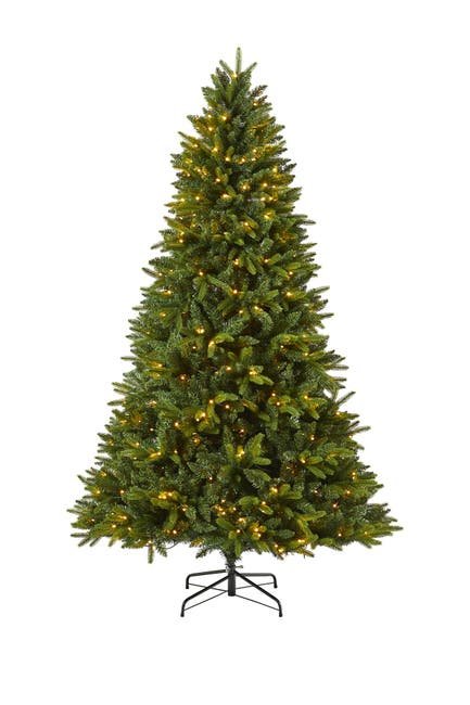 Image of NEARLY NATURAL 7ft. Sun Valley Fir Artificial Christmas Tree