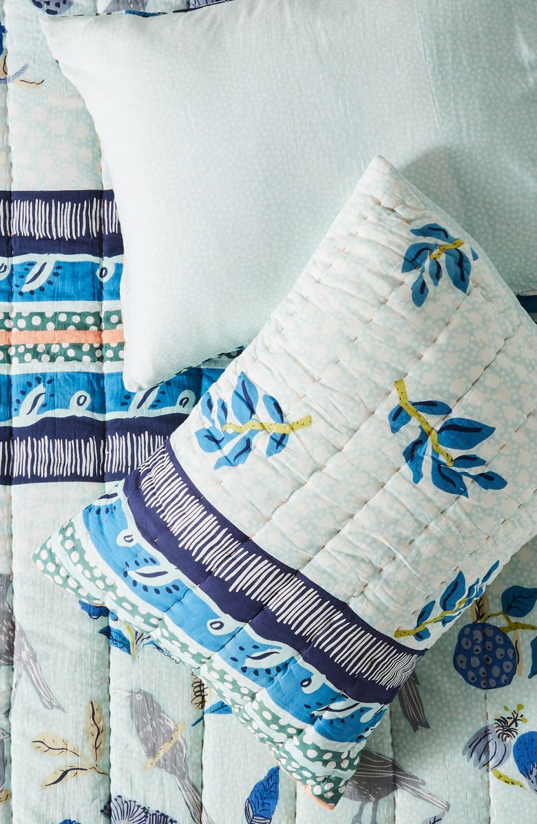 ANTHROPOLOGIE HOME Kirby Set of 2 Pillow Shams, Main, color, SKY