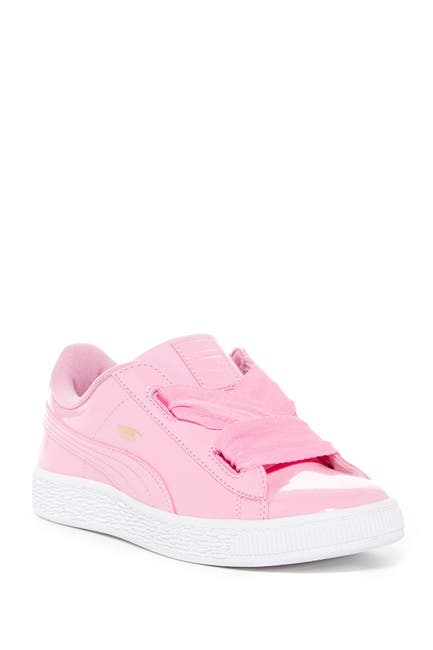 Image of PUMA Basket Heart Patent Sneaker