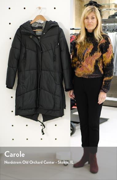 Long Hooded Puffer Coat, sales video thumbnail