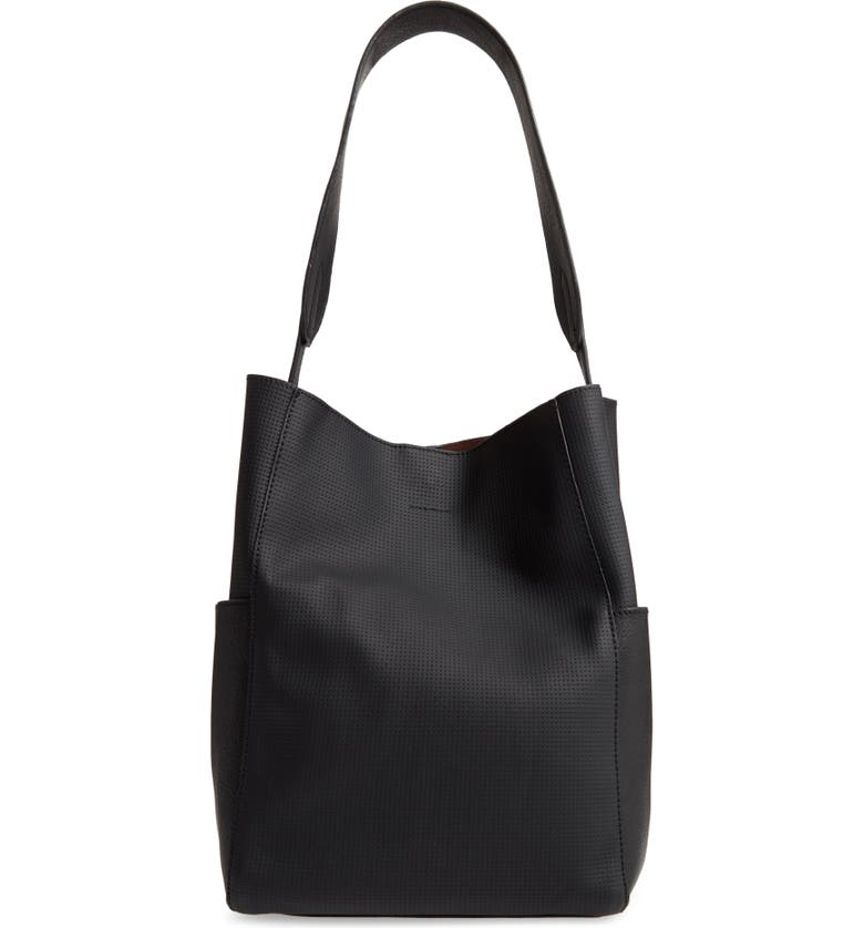 BP. Soft Shoulder Bag, Main, color, 001