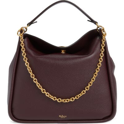 Mulberry Leighton Leather Hobo -