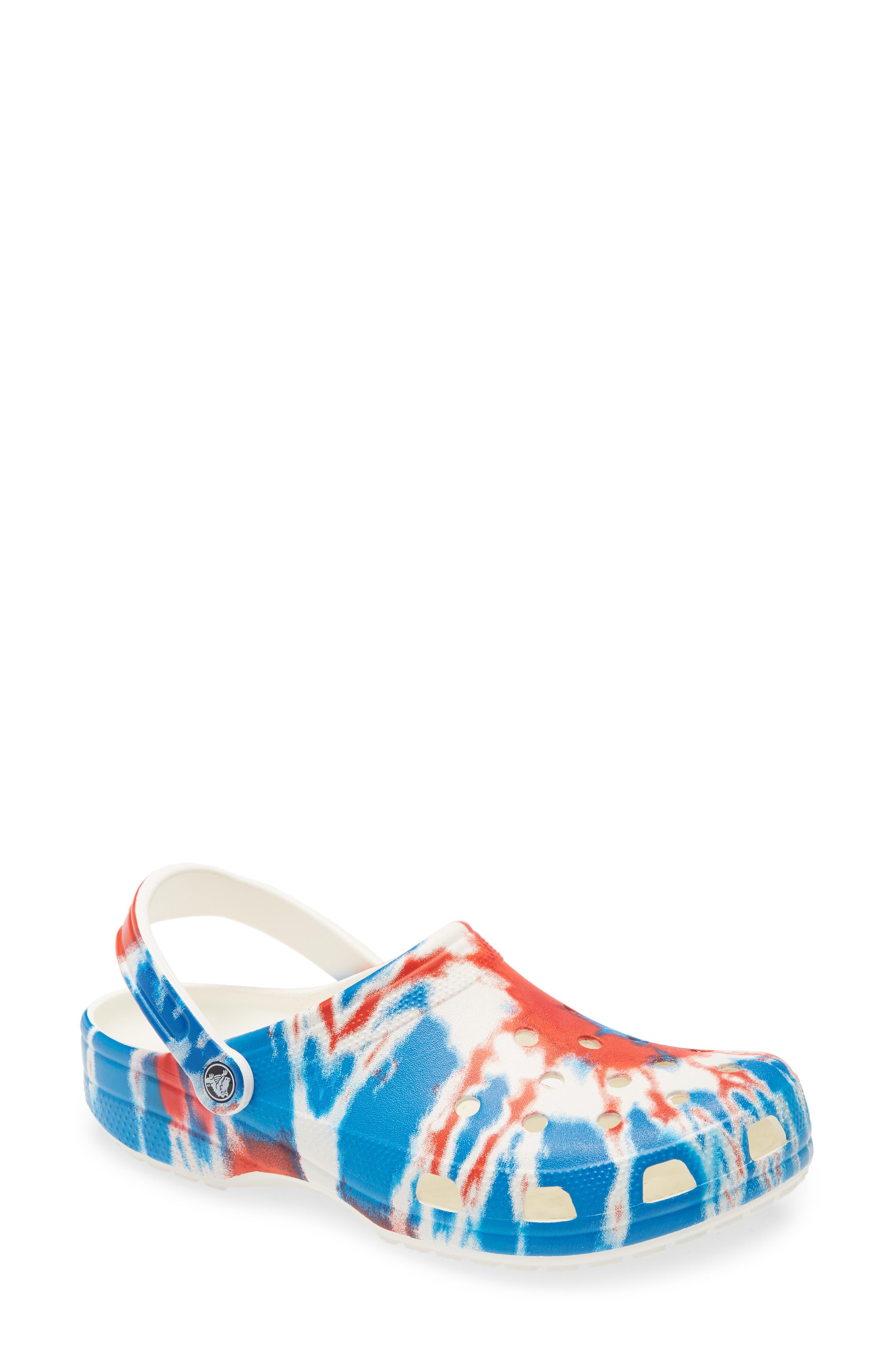 Crocs(TM) Classic Tie Dye Graphic Clog