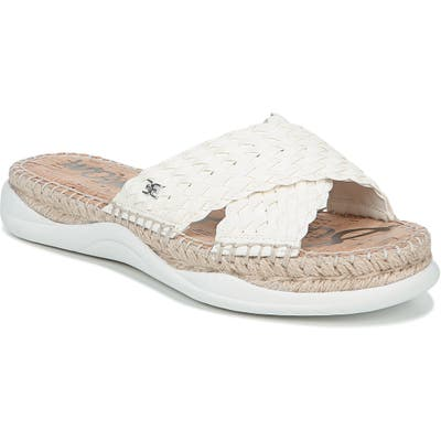Sam Edelman Jovie Slide Sandal, White