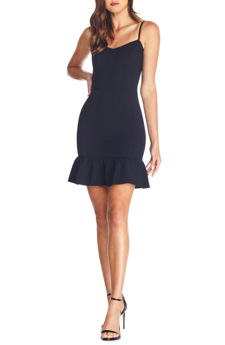 DRESS THE POPULATION Mira Minidress, Main, color, 001