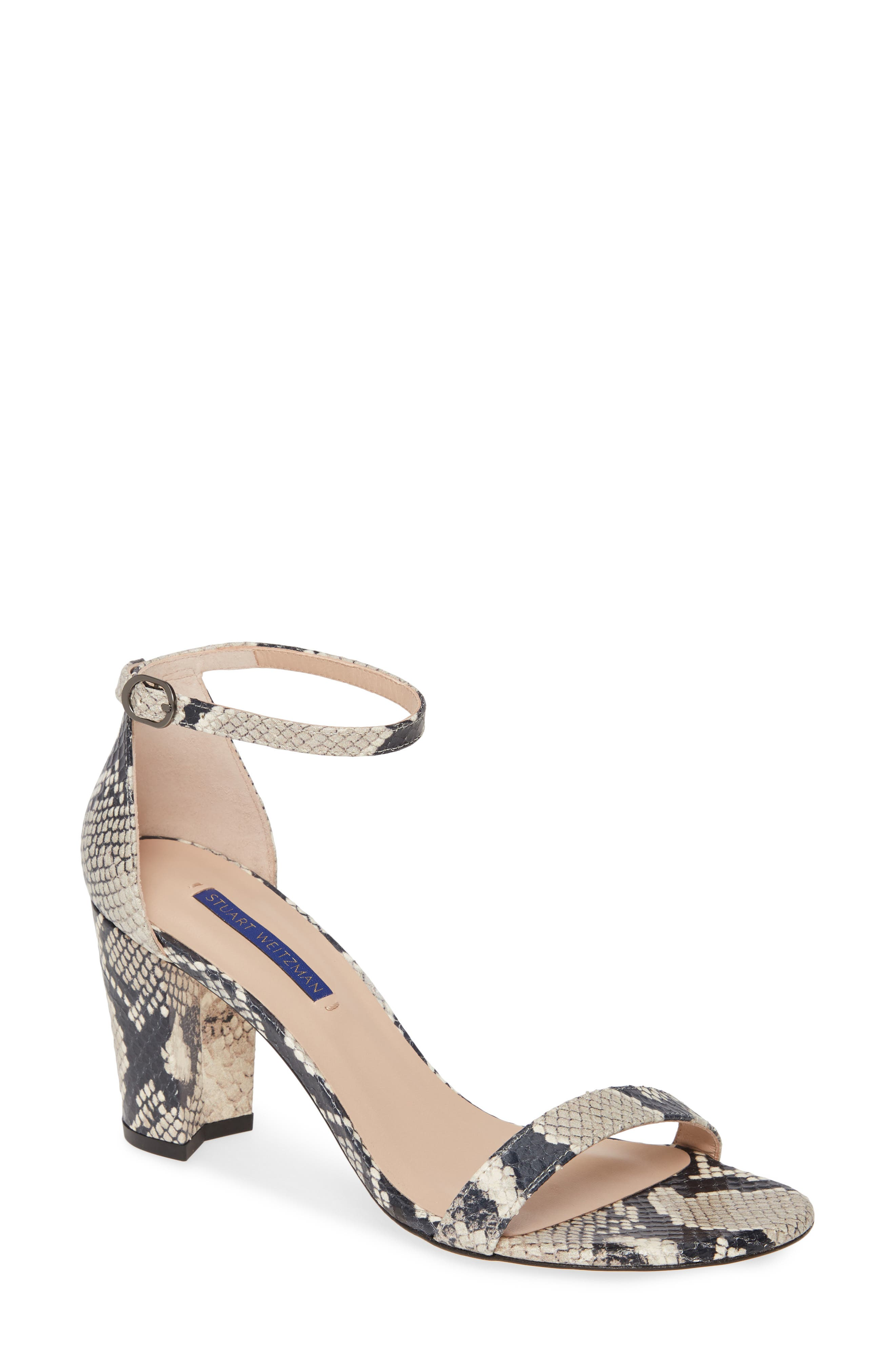 a5cfd1e6f Stuart Weitzman Nearlynude Ankle Strap Sandal, Brown