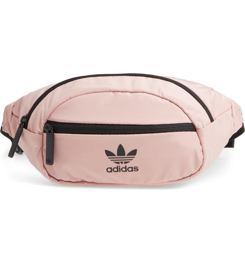 ADIDAS Originals National Belt Bag, Main, color, PINK SPIRIT