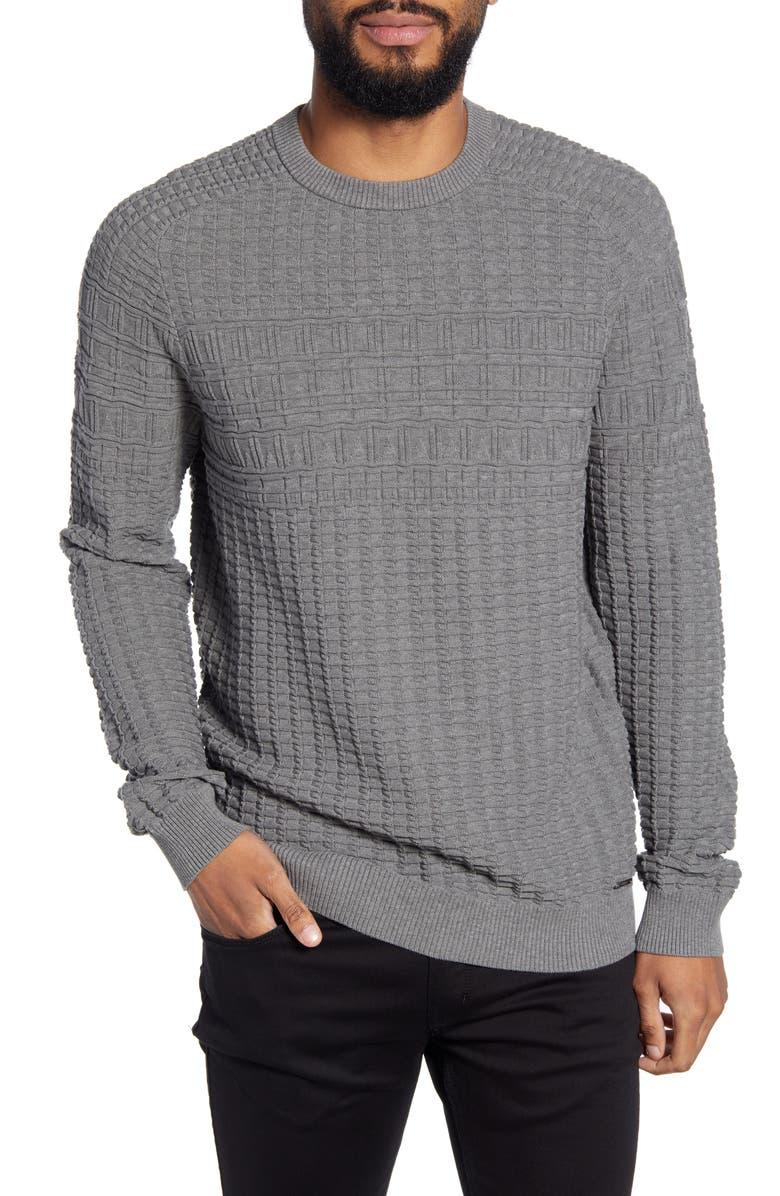 HUGO Subond Regular Fit Sweater, Main, color, 081